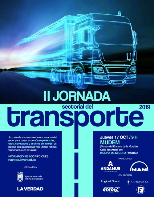 La II Jornada Sectorial del Transporte analizará en Molina de Segura la situación actual del sector, sus retos de futuro y el impacto del Brexit - 2, Foto 2