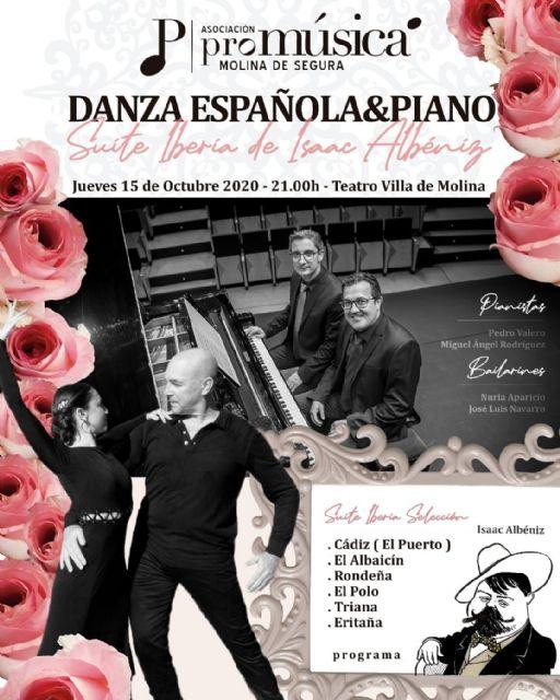 Pedro Valero y Miguel Ángel Rodríguez ofrecen el Concierto de Apertura del Ciclo Músicas Clásicas el jueves 15 de octubre en el Teatro Villa de Molina - 1, Foto 1