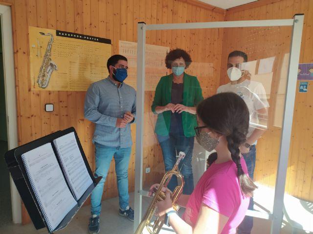 El Ayuntamiento acondiciona la Escuela de Música de Puerto Lumbreras, que comienza con todos los protocolos de seguridad frente al COVID-19 - 2, Foto 2