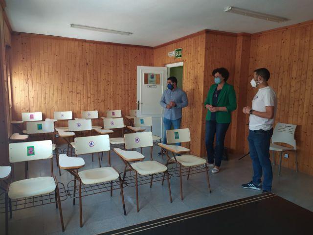 El Ayuntamiento acondiciona la Escuela de Música de Puerto Lumbreras, que comienza con todos los protocolos de seguridad frente al COVID-19 - 3, Foto 3