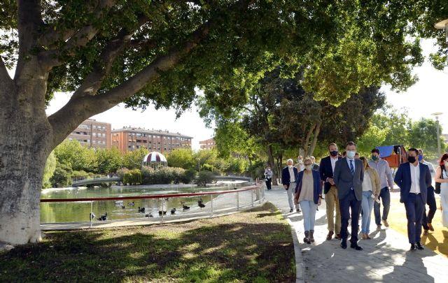 Finalizan las obras del jardín de Fofó, una gran área verde de 16.000 m2 con el lago como eje central y más zonas de recreo - 2, Foto 2