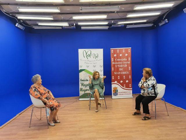 La Concejalía de Igualdad y Violencia de Género de Molina de Segura participa en tres programas de  Mayormente Mayores en la Tele con motivo de la conmemoración del 25 de noviembre - 1, Foto 1