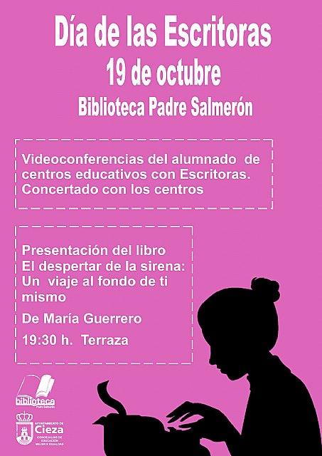 La Biblioteca Padre Salmerón celebrará el Día de las Escritoras - 1, Foto 1
