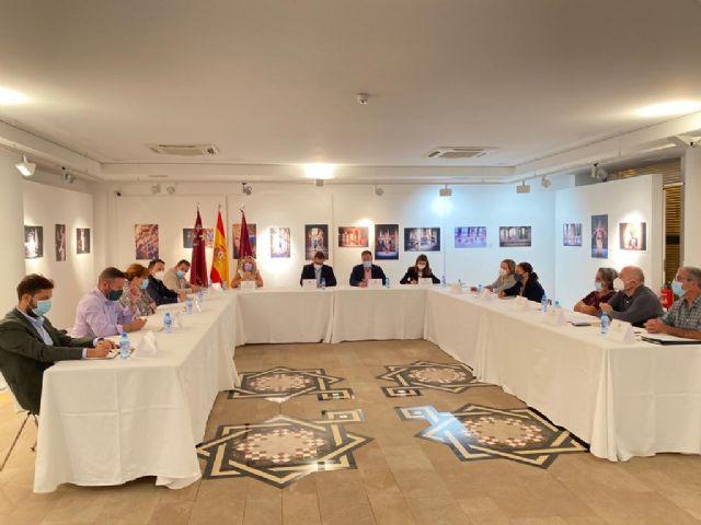 El alcalde de Lorca sostiene que la recuperación del casco histórico requiere de un plan integral que abarque el aspecto patrimonial y social de vivienda, urbanístico, comercial y de ocio - 1, Foto 1