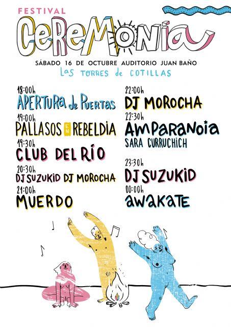 Todo listo para el festival de música y artes CeremONia, que contará con Amparanoia y Muerdo como cabezas de cartel - 1, Foto 1