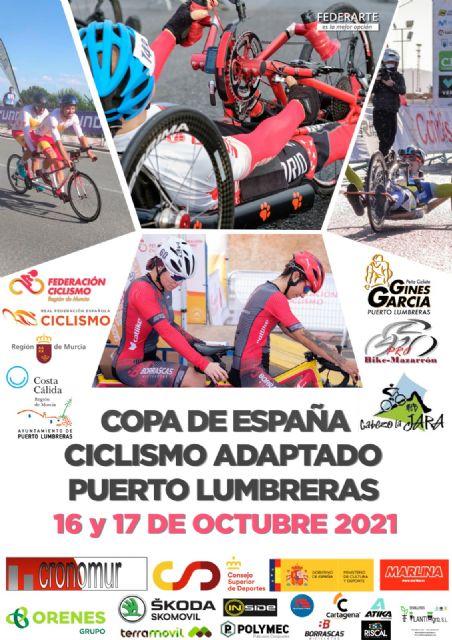 Puerto Lumbreras albergará este fin de semana las dos últimas pruebas puntuables de la Copa de España de Ciclismo Adaptado 2021 - 1, Foto 1