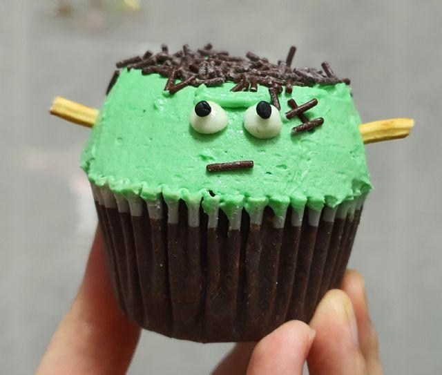 Receta: ¡Cómo preparar Cupcakes de Frankestein en casa de forma fácil! - 1, Foto 1