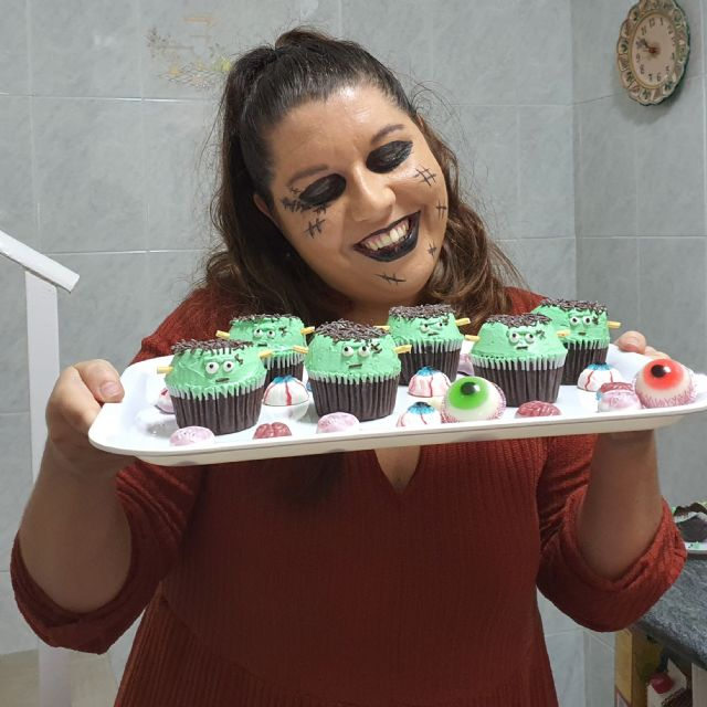 Receta: ¡Cómo preparar Cupcakes de Frankestein en casa de forma fácil! - 3, Foto 3