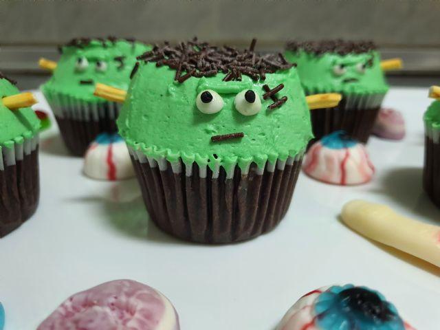 Receta: ¡Cómo preparar Cupcakes de Frankestein en casa de forma fácil! - 4, Foto 4
