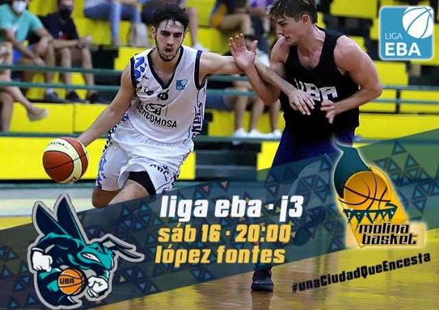 LIGA EBA   La Salud Archena y Sercomosa Molina Basket miden fuerzas en la tercera jornada - 1, Foto 1