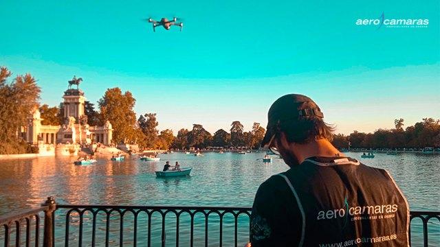 Aerocamaras retrata Madrid desde los cielos con drones - 1, Foto 1