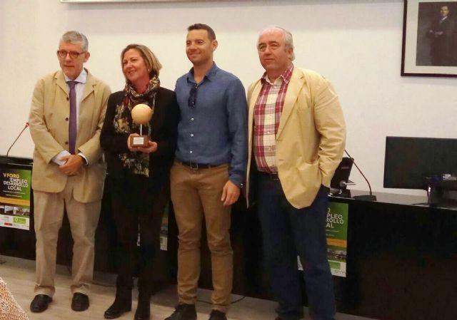 El ayuntamieno de Mazarrón recibe el premio al mejor proyecto de Desarrollo Local de la región de murcia, Foto 1