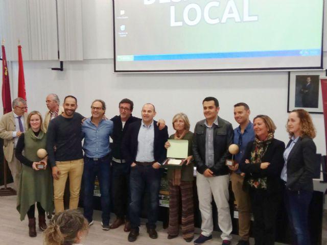 El ayuntamieno de Mazarrón recibe el premio al mejor proyecto de Desarrollo Local de la región de murcia, Foto 2