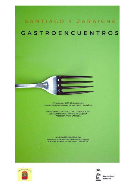 La Junta Municipal de Santiago y Zaraíche pone en marcha el evento 'Gastroencuentros' que reunirá a algunos de los mejores chefs de la Región - 1, Foto 1