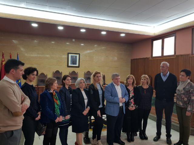 Recibimiento institucional a las distintas delegaciones del Erasmus+KA 229 - 1, Foto 1