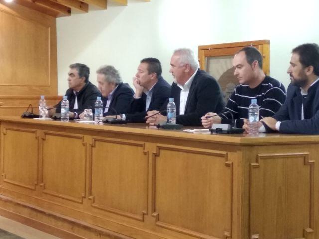 Pliego acoge una reunión institucional en defensa de los servicios públicos en los municipios pequeños - 1, Foto 1