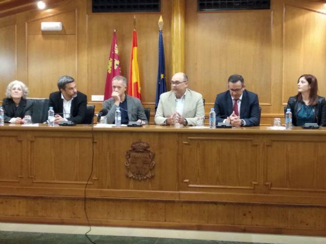 Pliego acoge una reunión institucional en defensa de los servicios públicos en los municipios pequeños - 3, Foto 3