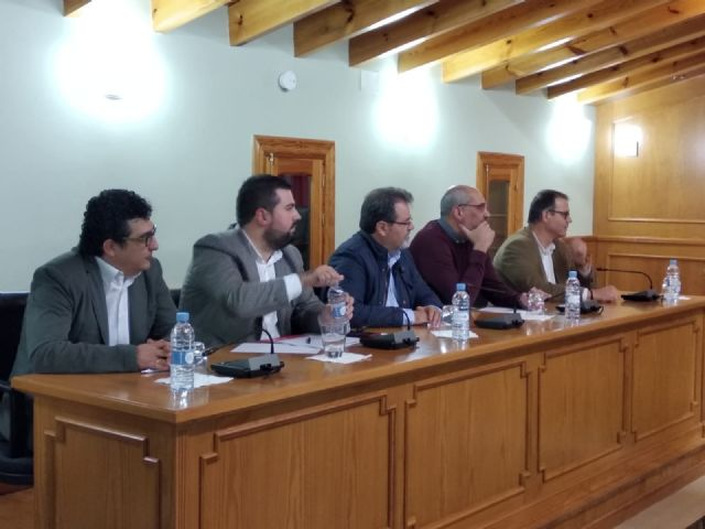 Pliego acoge una reunión institucional en defensa de los servicios públicos en los municipios pequeños - 4, Foto 4