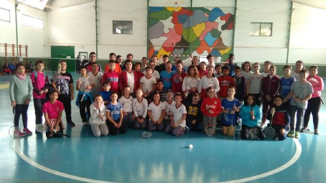 The Local School Sports Badminton Phase was attended by 55 schoolchildren