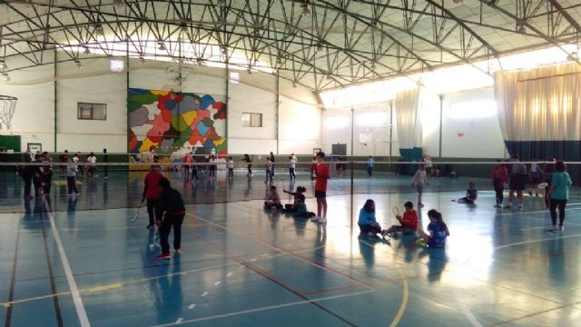 The Local School Sports Badminton Phase was attended by 55 schoolchildren, Foto 2