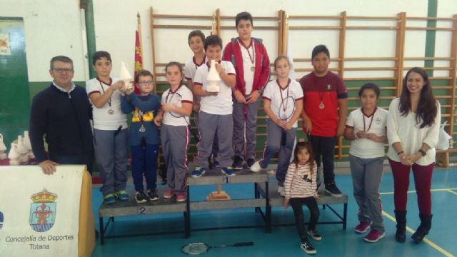 The Local School Sports Badminton Phase was attended by 55 schoolchildren, Foto 5