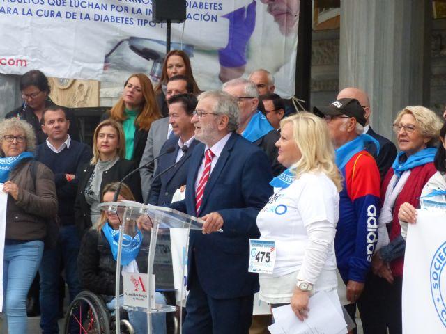 La Asamblea Regional se suma a la campaña de la concienciación del Día Mundial de la Diabetes, Foto 2