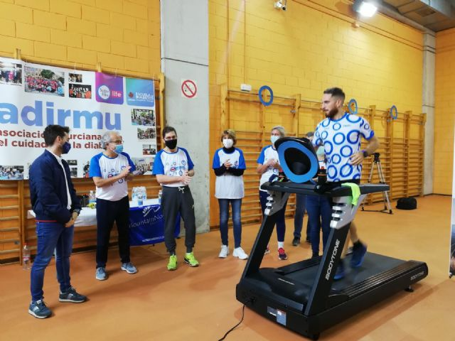 Salud participa en el reto Yo sudo por la diabetes para visibilizar la enfermedad - 1, Foto 1
