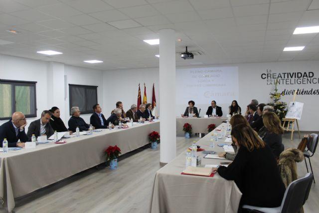 El Pleno de la Cámara de Comercio se reúne en el Vivero de Empresas de Puerto Lumbreras - 1, Foto 1
