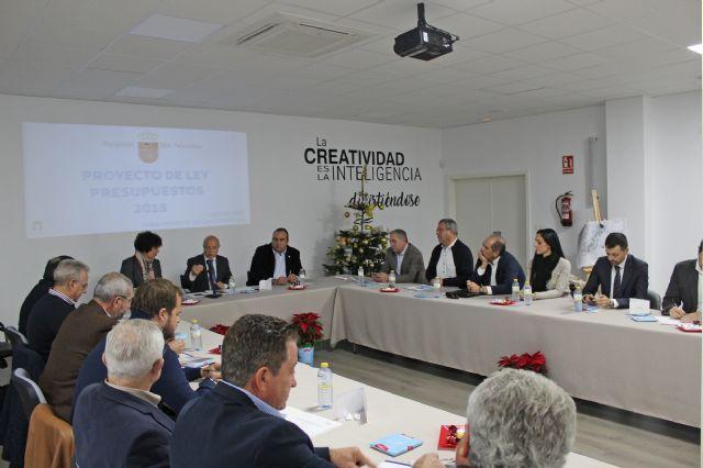 El Pleno de la Cámara de Comercio se reúne en el Vivero de Empresas de Puerto Lumbreras - 2, Foto 2