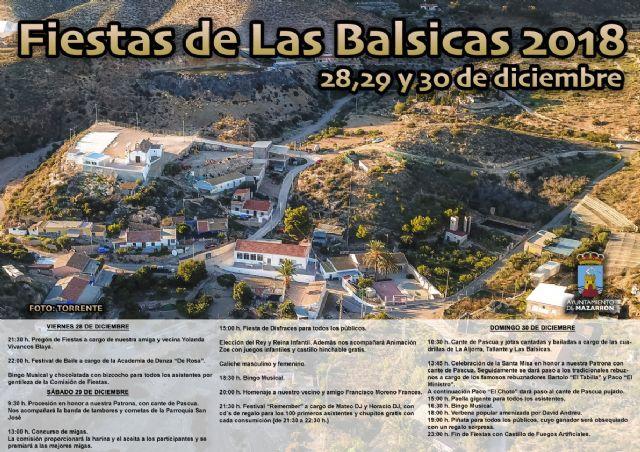 Las Balsicas celebra sus fiestas del 28 al 30 de diciembre, Foto 2