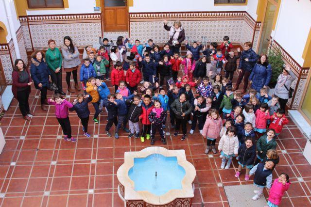 Alumnos del Colegio Mariano Suárez visitan el Ayuntamiento de Jumilla - 4, Foto 4