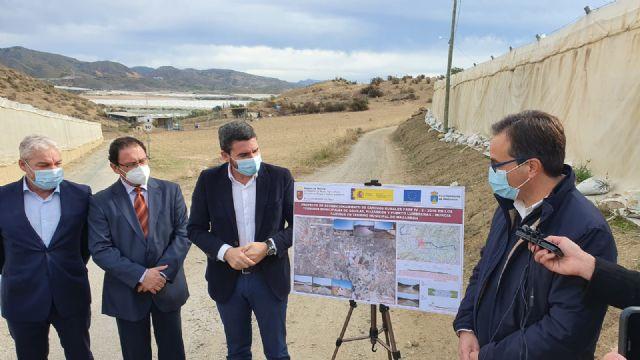 La Comunidad invertirá cerca de un millón de euros en reparar 8,3 kilómetros de caminos rurales de Mazarrón en el primer trimestre de 2021, Foto 1