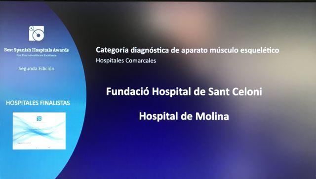El Hospital de Molina, finalista de los Premios BSH - Best Spanish Hospitals AwardsR en aparato músculo esquelético - 1, Foto 1