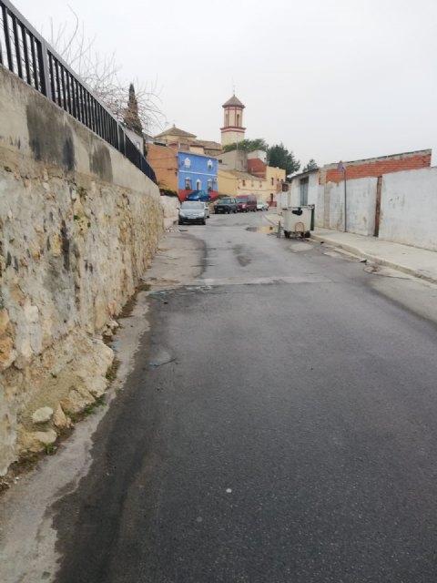 Ciudadanos Calasparra denuncia el estado de abandono del barrio del Esparragal por el Consistorio socialista - 1, Foto 1