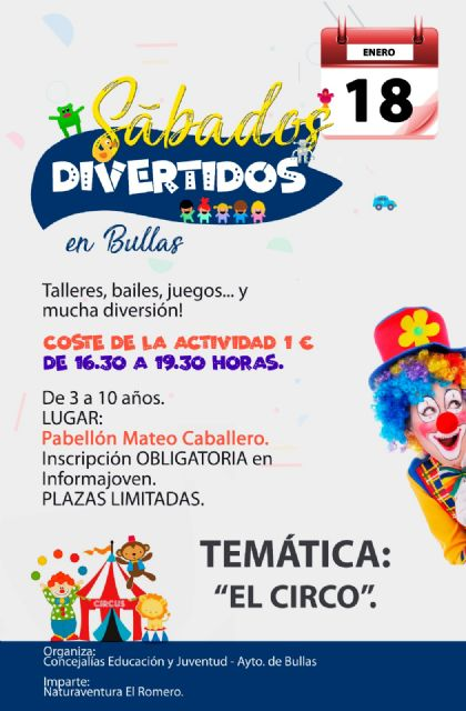 El circo será la temática del próximo ''Sábado Divertido'' - 1, Foto 1