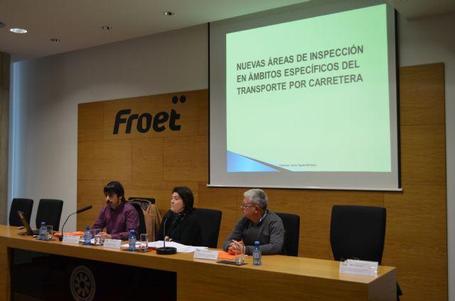 Froet acoge la presentación del nuevo Plan de Inspección en Transportes por carretera 2017 - 2, Foto 2