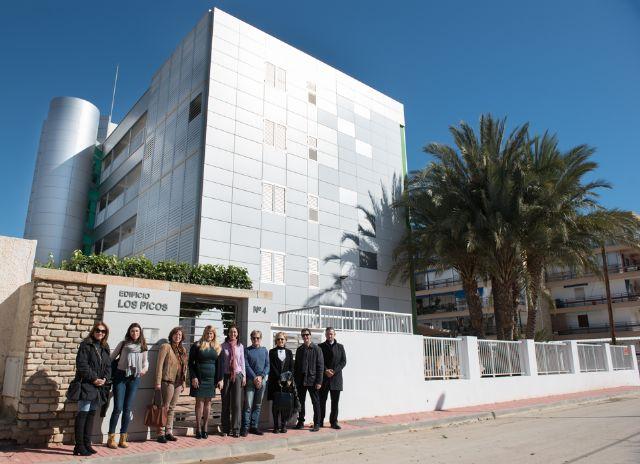 El jurado de los premios de calidad visita los edificios mazarroneros candidatos, Foto 1