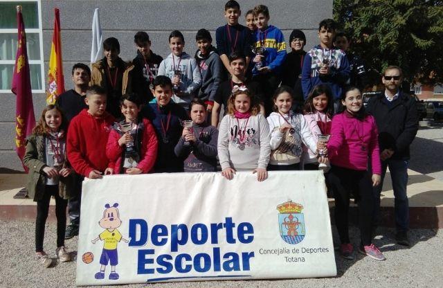 La Fase Local de Petanca de Deporte Escolar contó con la participación de 70 escolares
