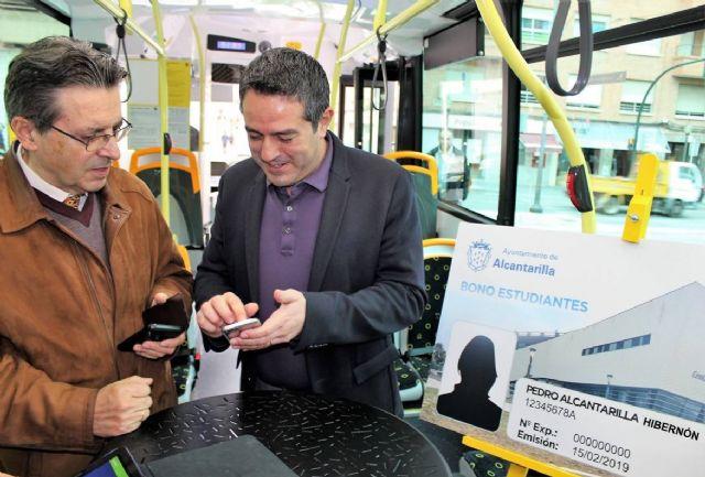 El Ayuntamiento de Alcantarilla suscribe un convenio con la empresa de autobuses LAT, en el que aumenta la oferta de transporte público bonificado para los estudiantes de nuestro municipio - 4, Foto 4