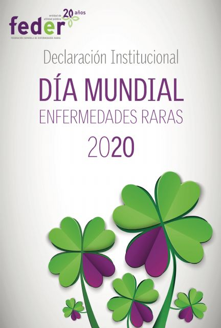The City Council will adhere to the Institutional Declaration on the occasion of the World Rare Disease Day of 2020