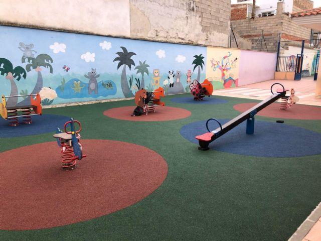 Obras en los patios del Colegio Obispos García Ródenas y CAI - 2, Foto 2