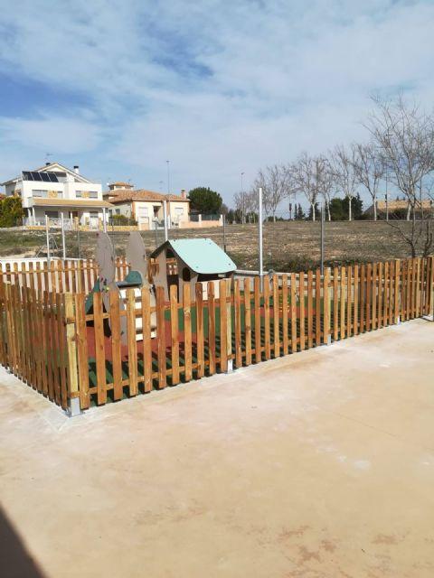 Obras en los patios del Colegio Obispos García Ródenas y CAI - 4, Foto 4