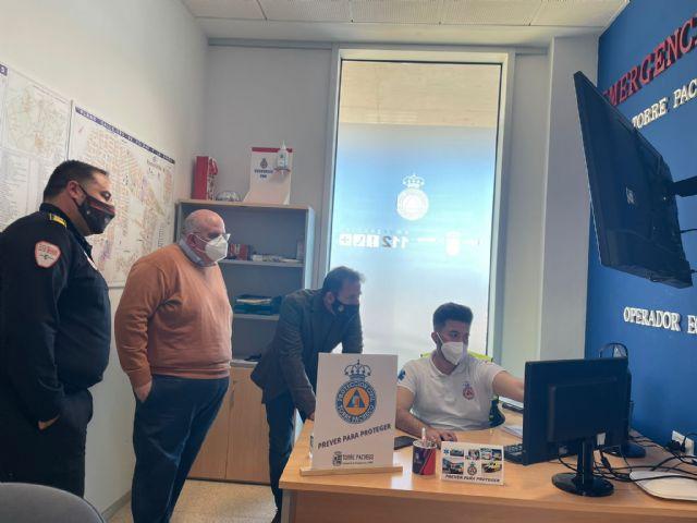 Protección Civil pone en marcha los puntos CECOVID para rastreadores en Torre Pacheco - 2, Foto 2