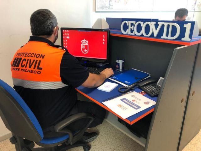 Protección Civil pone en marcha los puntos CECOVID para rastreadores en Torre Pacheco - 4, Foto 4