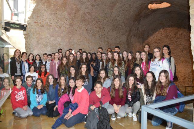 Alumnos del Instituto Valle de Leiva reciben en sus casas a un grupo de jóvenes franceses, Foto 3