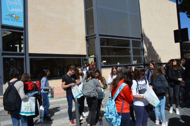 Alumnos del Instituto Valle de Leiva reciben en sus casas a un grupo de jóvenes franceses, Foto 4