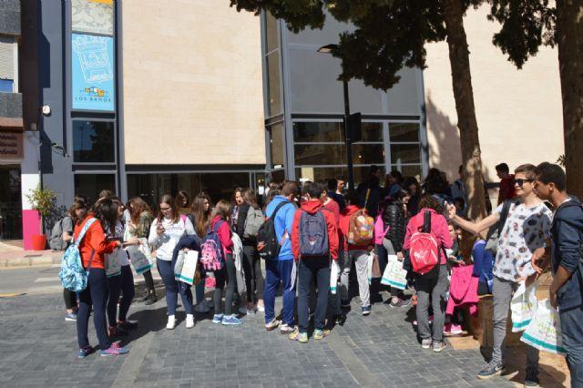 Alumnos del Instituto Valle de Leiva reciben en sus casas a un grupo de jóvenes franceses, Foto 5