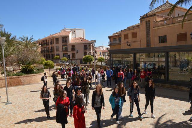 Alumnos del Instituto Valle de Leiva reciben en sus casas a un grupo de jóvenes franceses, Foto 9