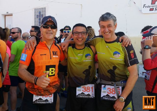 Friends of KNT participated in the II Ramonete Trail and the Barcelona Marathon 38