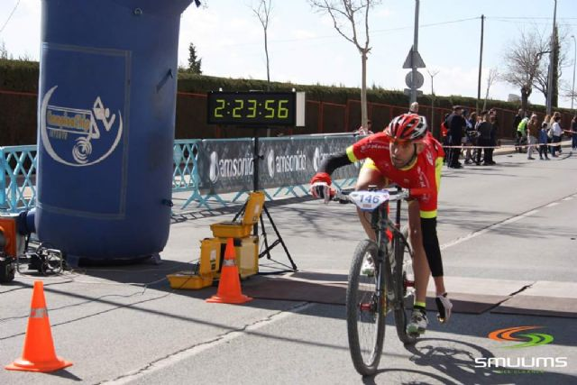 CC Santa Eulalia was very active last Sunday participated in 4 tests mtb